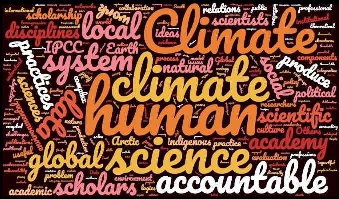Accountability and the academy: producing knowledge about the human dimensions of climate change