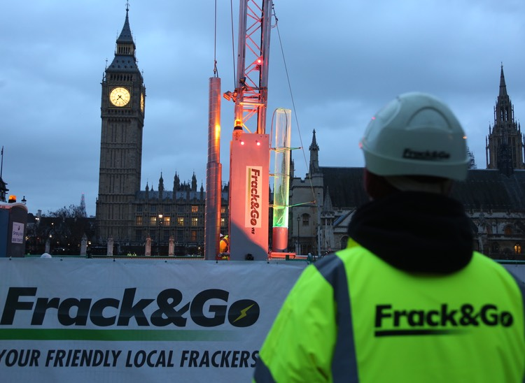 Fracking Big Ben: science, policy and fractivism in the UK